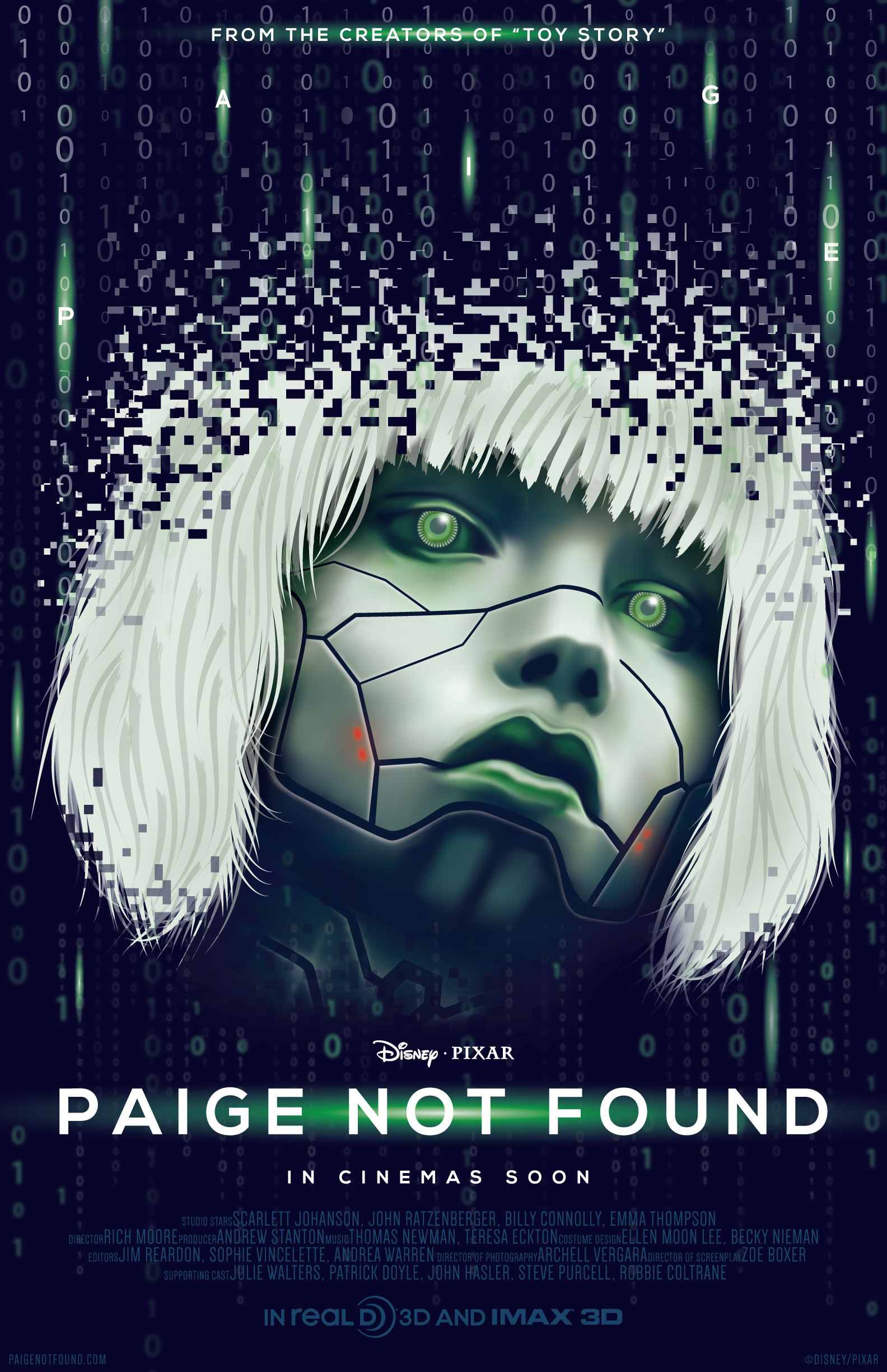 PAIGE NOT FOUND